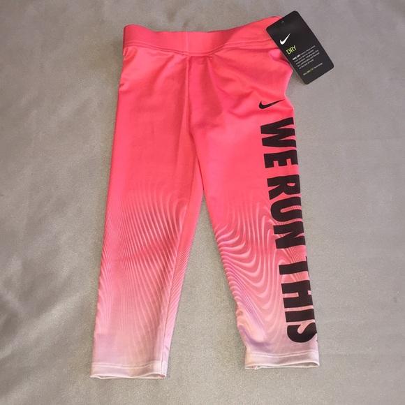 f7c45826 Nike Bottoms | Nwt Dri Fit Ppnk Black Gray Pants | Poshmark